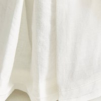 Relaxed Cotton-Linen Bed Skirt