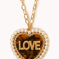Lovely Heart Pendant Necklace