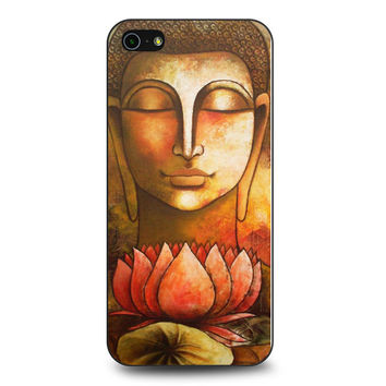 Buddha Painting Flower iPhone 5 | 5S Case