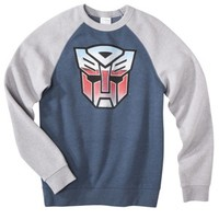 Men's Transformer Raglan Fleece - Navy
