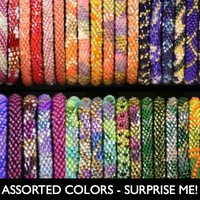 Assorted Color Lily and Laura Bracelets - Nepal
