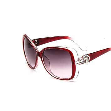 2016 Famous Brand Designer Shades Mirror Sunglasses Women Fashion Oval Retro Mirror Eyewear Sun Glasses Female Oculos De Sol