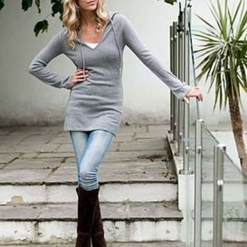 cashmere hooded tunic by willowcashmere | notonthehighstreet.com