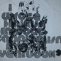 I Wrote Haikus About Cannibalism in Your Yearbook t-shirt (hardcore, screamo band)