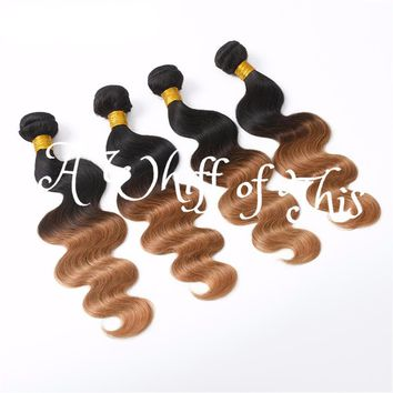 Body Wave Ombre Human Hair Bundle