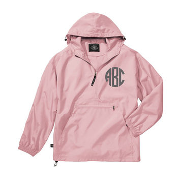 Kids Monogrammed Rain Jacket (pullover) for Kids