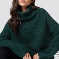 Oversize Polo Knit Sweater