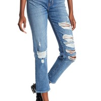 HUDSON Jeans | Zoeey High Rise Straight Crop Jeans | Nordstrom Rack