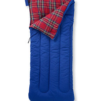 Camp Sleeping Bag, Flannel-Lined 40: Camping | Free Shipping at L.L.Bean