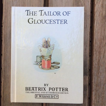 The Tale of Gloucester - Vintage Beatrix Potter Children's Book, 1987