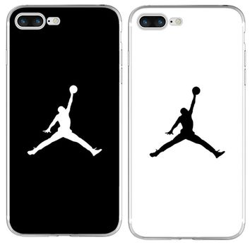 Fashion flyman Michael Jordan Silicone TPU for iPhone 8 7 X 6 6S Plus 5 5S SE 4S Case Coque Fundas Transparent Back Cover