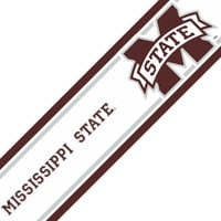 NCAA Mississippi State Bulldogs Self-Stick Wall Border