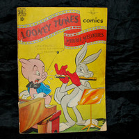 Looney Tunes , Bugs Bunny  , Dell Comics Collection , 1940s , Merrie Melodies , Cartoons