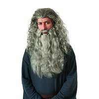 Rubie's Mens Gandalf Halloween Party Costume Wig & Beard Kit