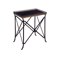 Rectangular Black Accent Table - Free Shipping!