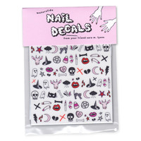 Sara M. Lyons Nail Decals- Creepy Cute