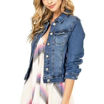 Urban Crop Denim Jacket