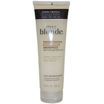 John Frieda sheer blonde highlight activating enhancing shampoo - 8.45 oz (Pack of 2)