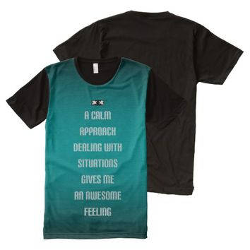 Awesome Quote by Kat Worth All-Over-Print T-Shirt