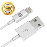 iPhone Charger, Syncwire Apple Lightning Cable 3.3ft - [Apple MFi Certified] Lifetime Guarantee Series - Sync & Charging Cord for iPhone 6s 6 Plus 5s 5c 5, iPad Air / mini / 4th Gen, iPod nano / touch - White[Compatible with iOS 9]