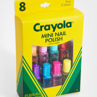 FredFlare.com - Crayola Mini Nail Polish Set - Set of 8 Colors