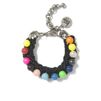 PRETTY PEARL BRACELET (ELECTRIC RAINBOW)