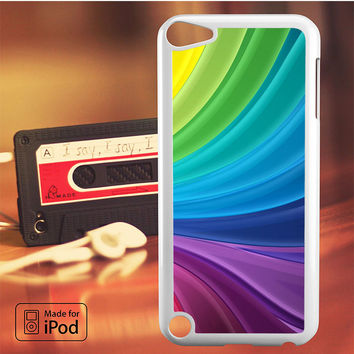 Abstract Rainbow Artwork iPod Touch 4 iPod Touch 5 iPod Touch 6 Case