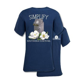 Southern Couture Preppy Simplify Comfort Colors T-Shirt