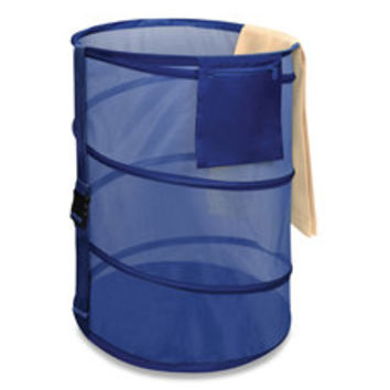 SmartWorks™ Spiral Pop-Up Hamper - Navy Blue