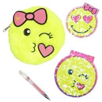 Emoji Furry Writing Set | Girls School Supplies Back-to-school Shop | Shop Justice