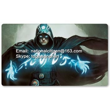 Many Playmat Choices -Jace the Mind Sculptor- MTG Board Game Mat Table Mat for Magical Mouse Mat the Gathering 60 x 35CM