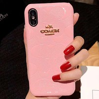 Perfect Coach Phone Cover Case For iphone 6 6s 6plus 6s-plus 7 7plus 8 8plus iPhone X XS XS max XR