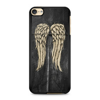 iPod Touch 4 5 6 case, iPhone 6 6s 5s 5c 4s Cases, Samsung Galaxy Case, HTC One case, Sony Xperia case, LG case, Nexus case, iPad case, Wings Daryl Dixon walking dead Cases