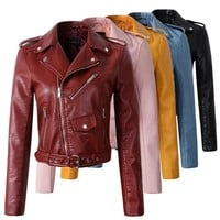 Faux Leather Jackets