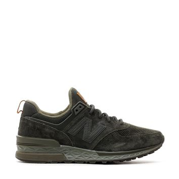 HCXX NEW BALANCE 574 SPORT SUEDE ARMY OLIVE REVLITE MS574CA