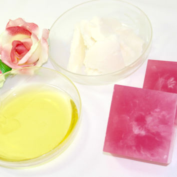 Rose (Aloe Vera + Shea Butter) Facial Soap
