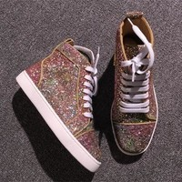 Cl Christian Louboutin Style #2286 Sneakers Fashion Shoes
