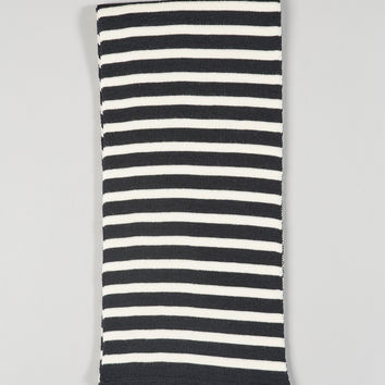Armor-Lux Stripe Scarf Navy/Nature
