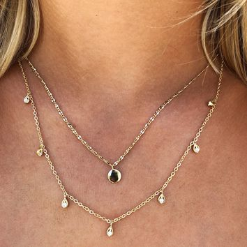 So Dainty Necklace: Gold