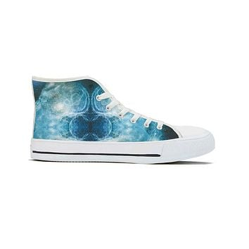 Spaced Out - High Top Canvas Shoes