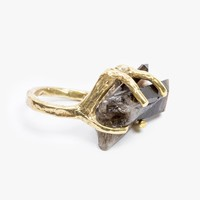 Dyrae Ring Smokey Quartz