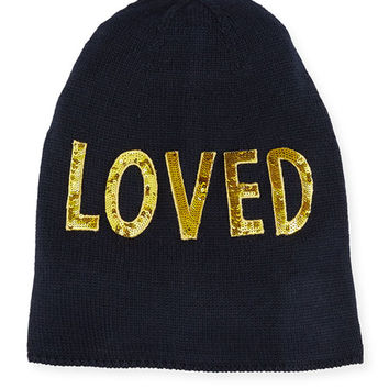 Gucci Loved Knit Beanie Hat
