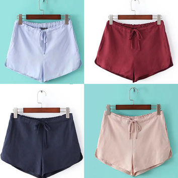 Summer Women's Fashion Casual Pants Shorts [6332317636]
