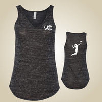 Volleyball tank - VolleyChick SpikeChick
