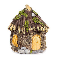 Miniature Enchanted Cottage Gnome Hobbit Fairy (Shabby House)