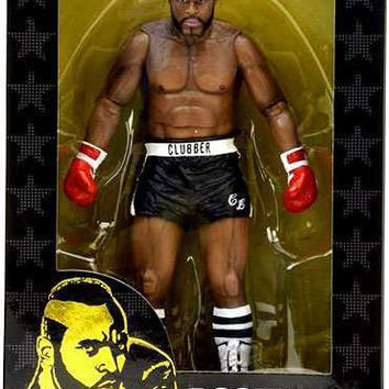 Rocky III Clubber Lang Action Figure by NECA NIB Mr. T NIP Black Trunks Boxing