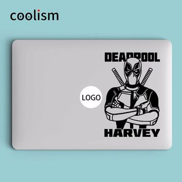 Deadpool Harvey Laptop Decal Sticker for Apple Macbook Decal Air 13 Pro Retina 11 12 15 inch Vinyl Mi Book Skin Notebook Sticker