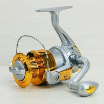 2016 New German Technology Bearing Balls 1000-7000 Spinning Reel Hot Sale for Feeder Fishing reel pesca with plastic cup