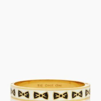 tie one on hinged idiom bangle - kate spade new york