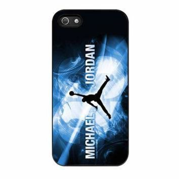 CREYUG7 Michael Jordan Flying NBA Basket iPhone 5 Case
